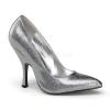BOMBSHELL-01G Silver Glitter Patent